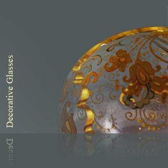 アンティーク・カテゴリの装飾ガラス