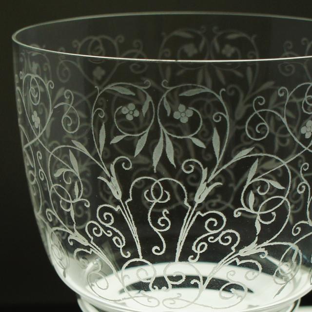グラスウェア「スカルラッティ グラス 高さ14.7㎝(容量約200ml)」