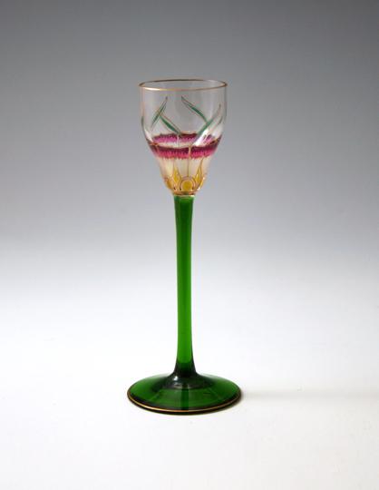 「花文様リキュールグラス」
