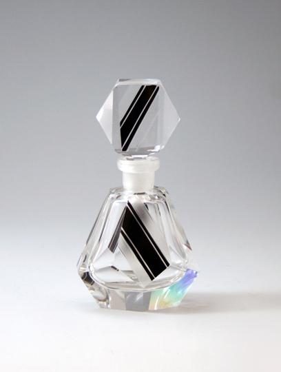 装飾ガラス「アール・デコ 香水瓶」