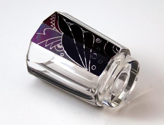 装飾ガラス「アール・デコ リキュールグラス」