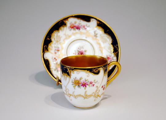陶磁器「ロココ調コーヒーカップ」