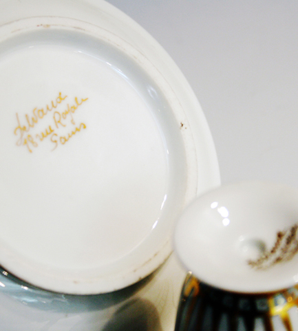 陶磁器「金彩コーヒーカップ」