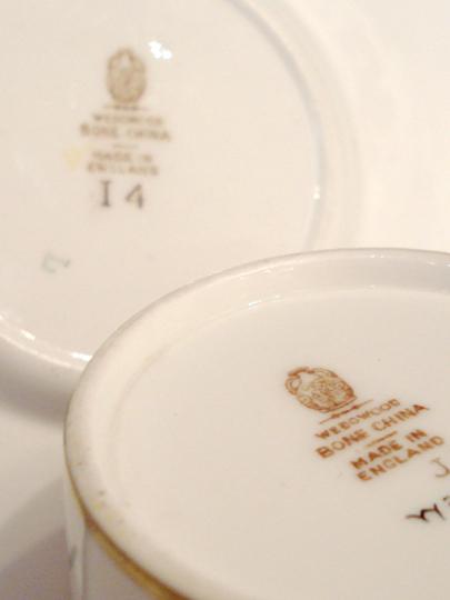 陶磁器「花文様 コーヒーカップ」
