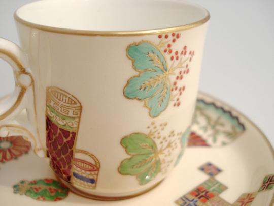 陶磁器「ジャポニズム コーヒーカップ」