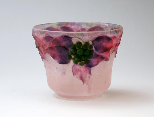 アールヌーヴォー「花文花瓶」