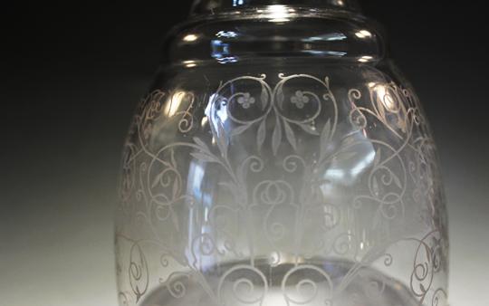 グラスウェア「リュリ ボトル」