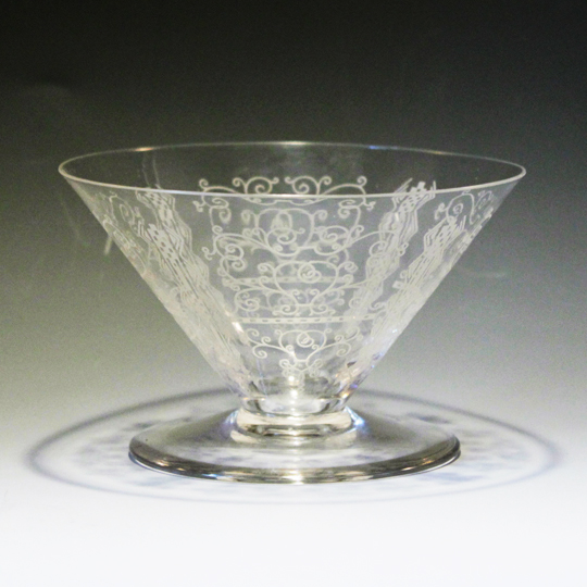 グラスウェア「シャンパンクープ」