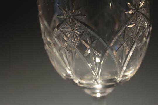 グラスウェア「カットグラス 高さ15.7㎝」