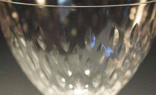 グラスウェア「パリ グラス 高さ15.7㎝」