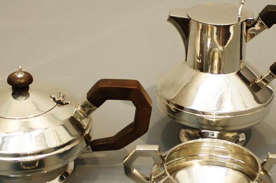 シルバー「ティー&コーヒーポット 4点セット」