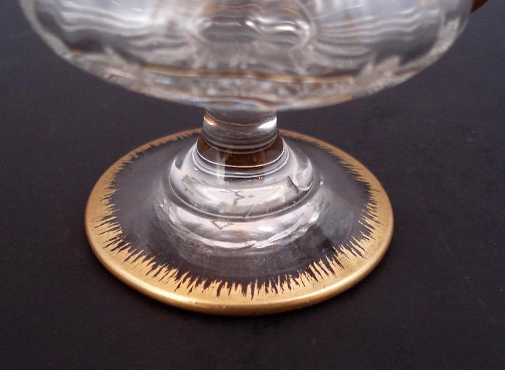 グラスウェア「ハンドル付金彩グラス」
