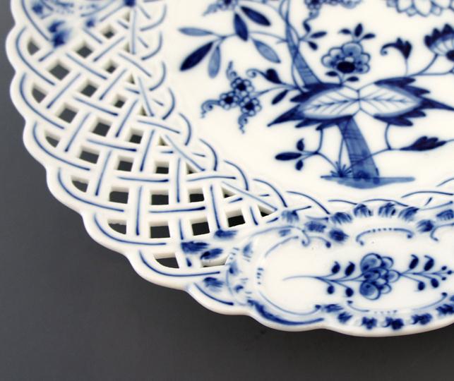陶磁器「染付ブルーオニオン文皿」