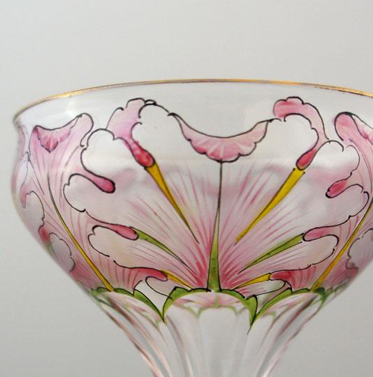 装飾ガラス「シャンパンクープ」
