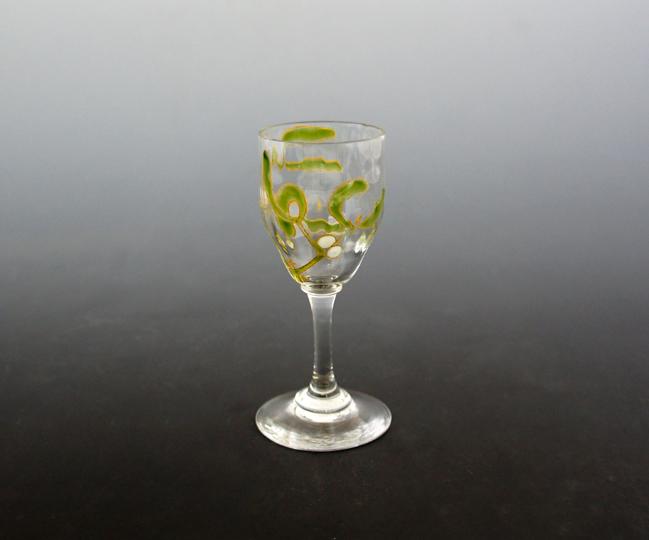 グラスウェア「ヤドリギ文リキュールグラス」