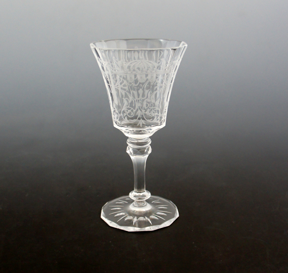 装飾ガラス「リキュールグラス」