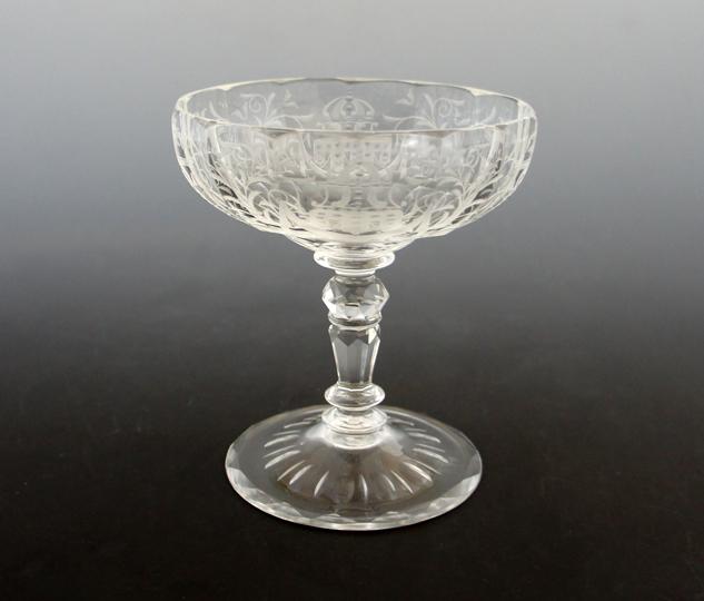 装飾ガラス「マリア・テレジア シャンパンクープ」