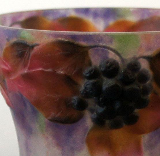 アールヌーヴォー「花瓶「アイビー」」