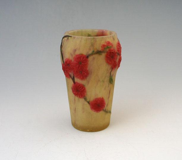 アールヌーヴォー「花瓶「梅」」
