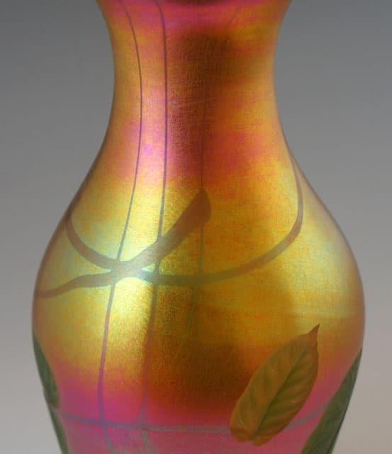 アールヌーヴォー「蔦文様花瓶」