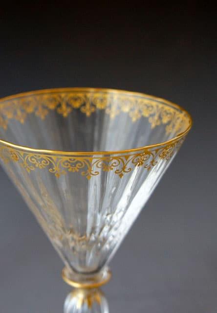 グラスウェア「金彩グラス」