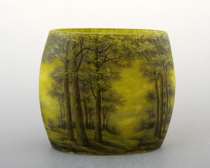 アールヌーヴォー「夏景色 花瓶」