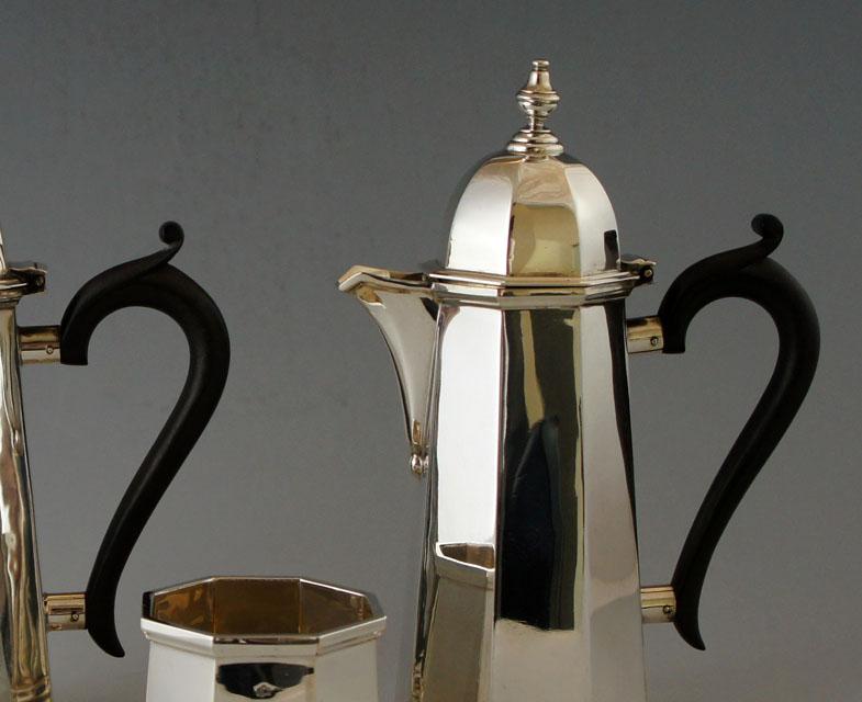 シルバー「カフェオレセット」