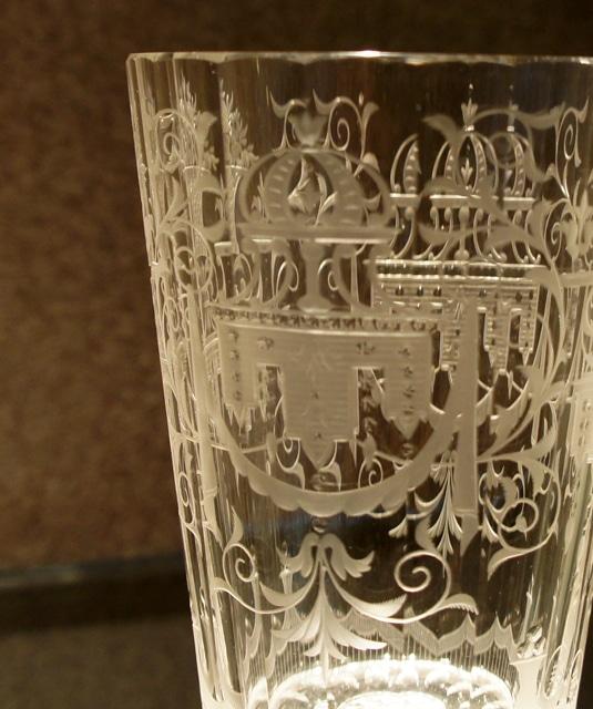 装飾ガラス「マリア・テレジア ゴブレット」