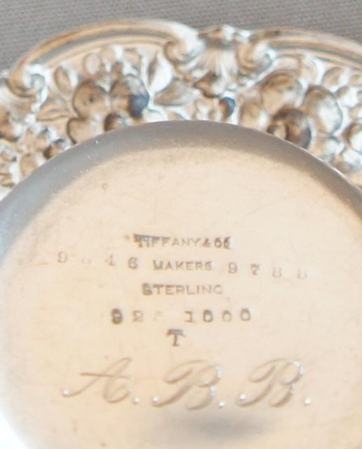 シルバー「ソルトスプーン&皿セット」