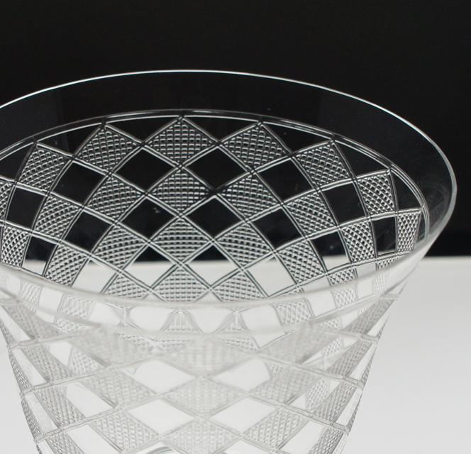 グラスウェア「キブロン 脚付グラス 高さ9㎝」
