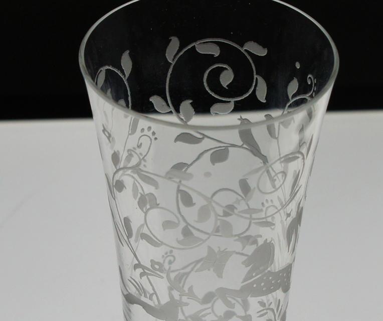 グラスウェア「ジェッダ フルートグラス 高さ13.7㎝」
