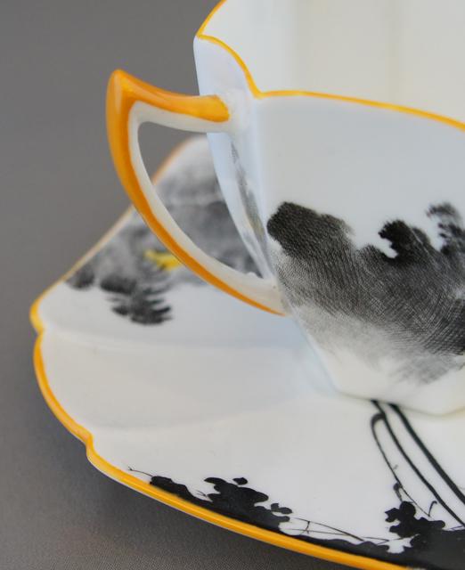 陶磁器「サンライズ コーヒーカップ&ソーサー」