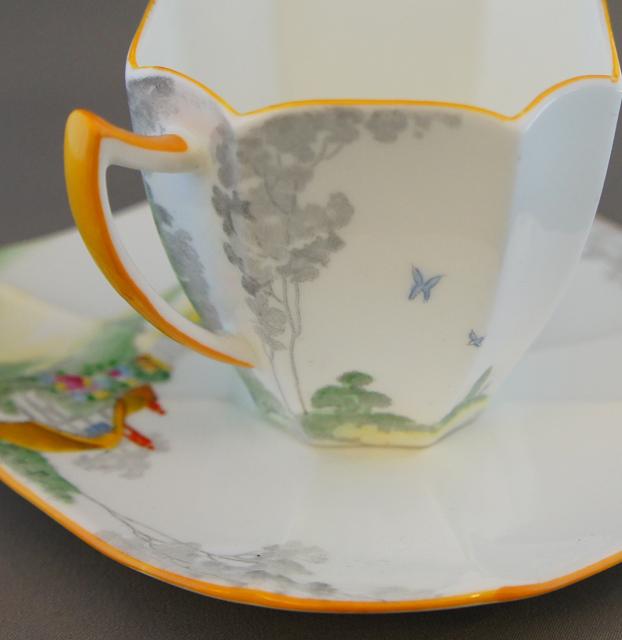 「コテージ コーヒーカップ&ソーサー」