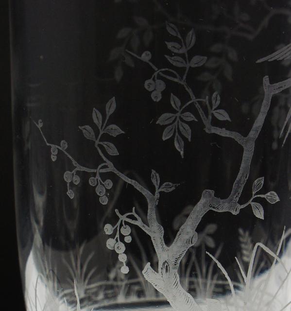 グラスウェア「花鳥文 リキュールセット」