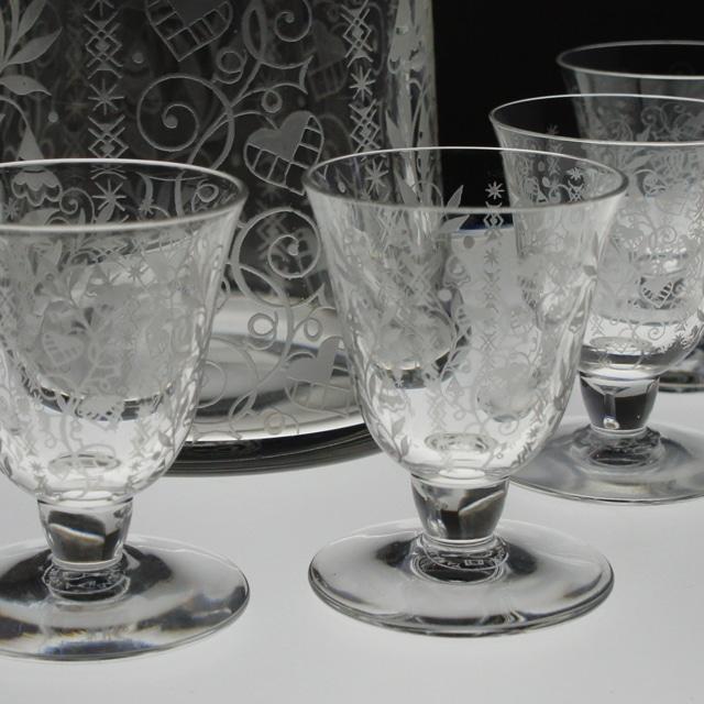 グラスウェア「アルジャンティーナ リキュールセット」