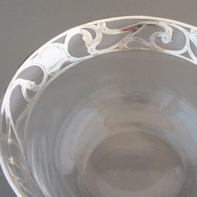 グラスウェア「銀装飾 小鉢」