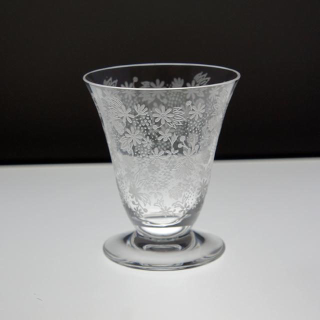 """グラスウェア「ワイングラス(小) """"エリザベート"""" 高さ7.5㎝」"""