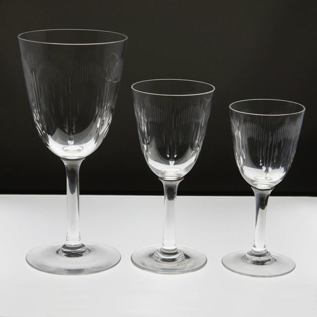 グラスウェア「モリエール グラス 高さ16.8cm」