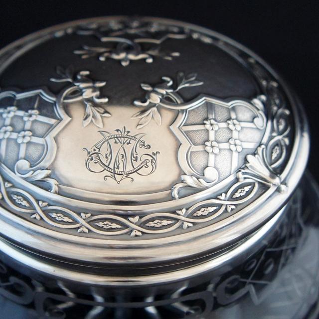 シルバー「銀装飾 ボックス」
