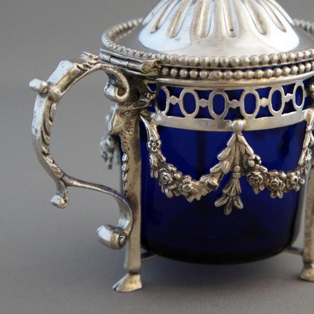 シルバー「銀装飾 ソルト入れ 単品」