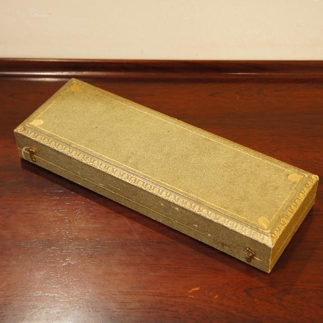 シルバー「金彩装飾 レードル 箱入り」