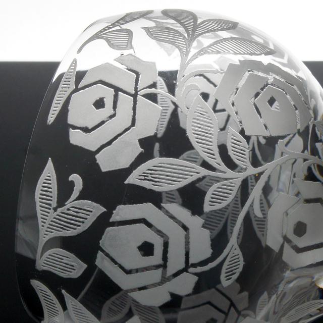 グラスウェア「フォントネー グラス 高さ9㎝(容量約200ml)」