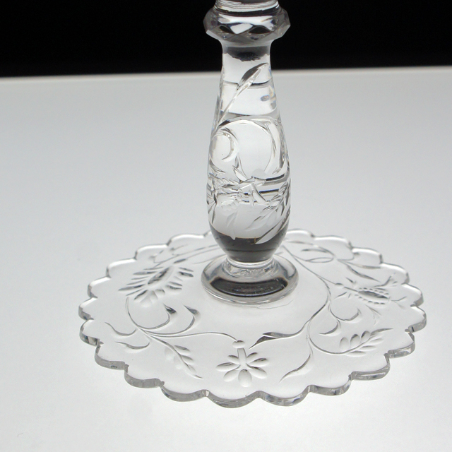 装飾ガラス「鳳凰文 グラヴィール装飾 グラス 高さ14cm」