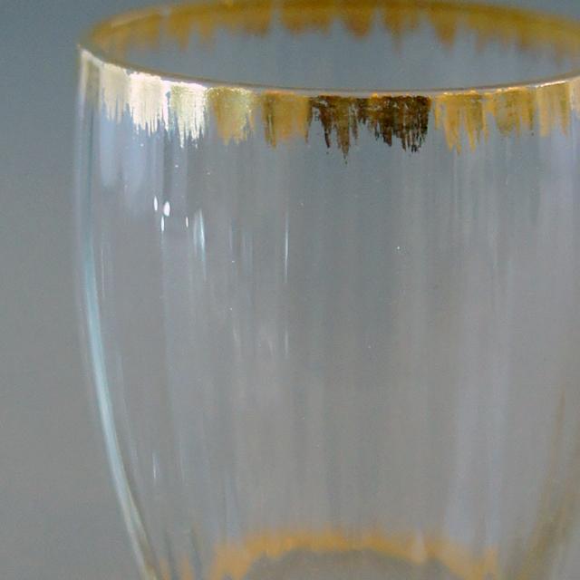 グラスウェア「金彩 リキュールグラス 高さ4.5cm」