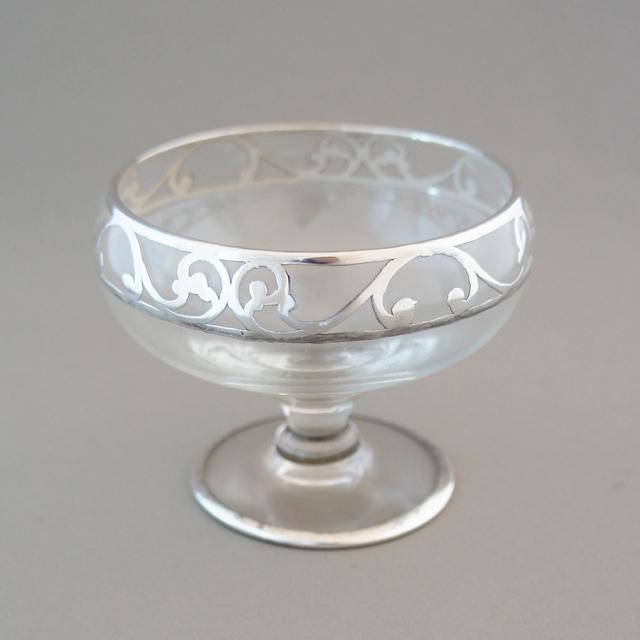 グラスウェア「銀巻き装飾 クープ」