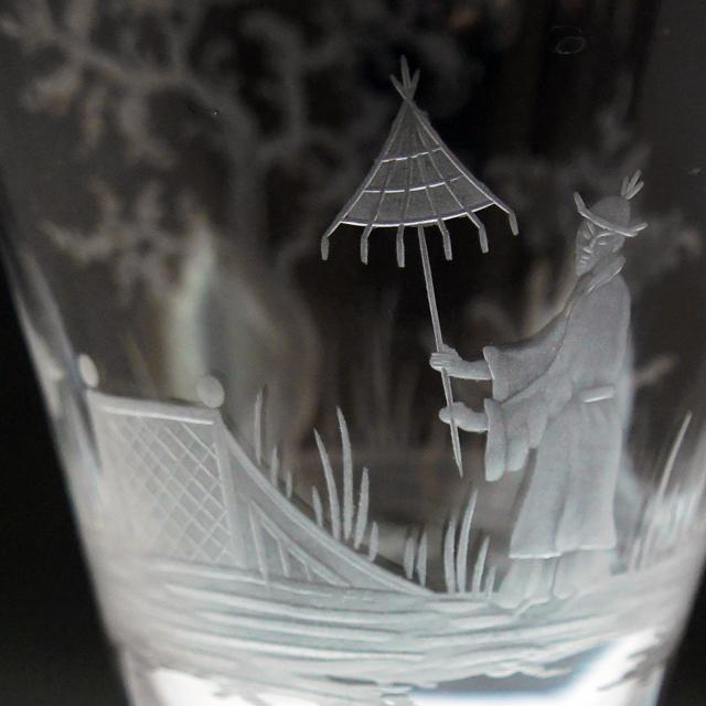 グラスウェア「Louis Damon × Baccarat グラヴィール グラス 高さ15.4cm」