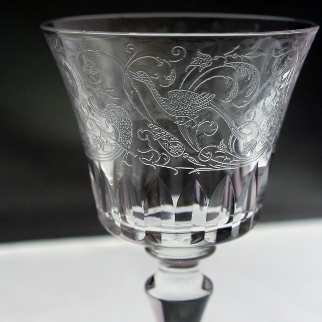 グラスウェア「PARME ワイングラス 高さ11.6cm(容量約80ml)」