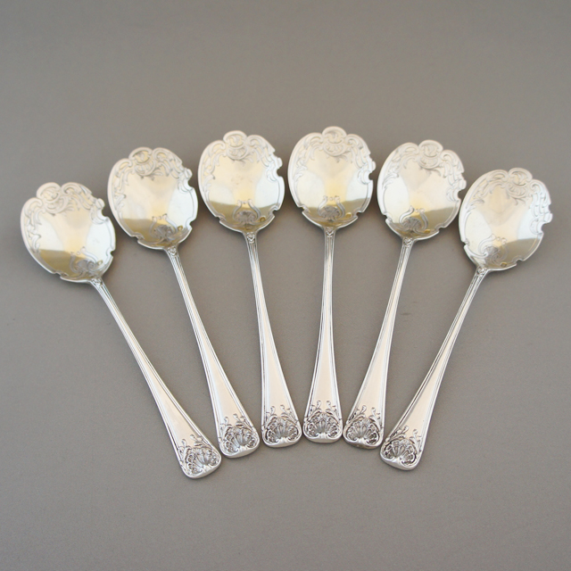 シルバー「シルバー アイスクリームスプーン 6本セット」