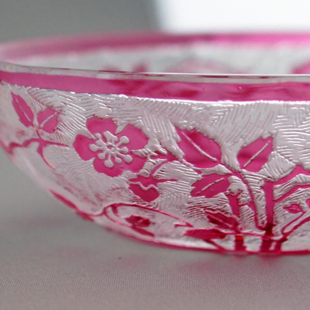 グラスウェア「エグランチェ 小皿」