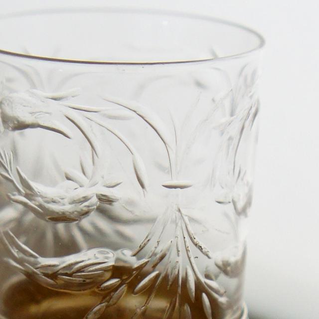 シルバー「シルバー&ガラス リキュールセット(ボトル&グラス2客)」